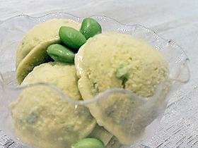 枝豆ヨーグルトアイスクリーム