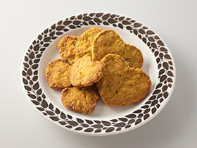 シンプルなかぼちゃのクッキー