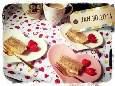 簡単おもてなし。紅茶のパウンドケーキ