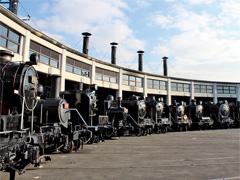 京都市 梅小路蒸気機関車館