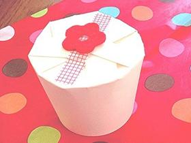 紙コップでカンタン、かわいい「プレゼントボックス」