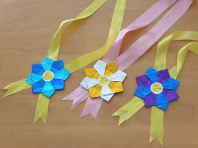 簡単 折り紙 折り紙で作るメダル : enfant.living.jp
