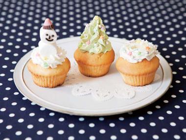 参加者募集!クリスマス気分が盛り上がるデコカップケーキ作りに親子で挑戦