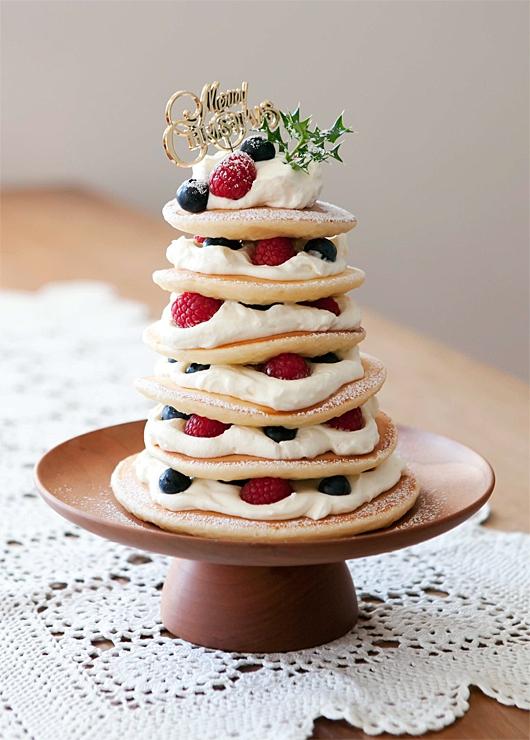 行事のおやつ/ツリーパンケーキ