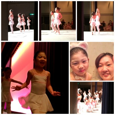 128☆幼稚園児・バレエの発表会