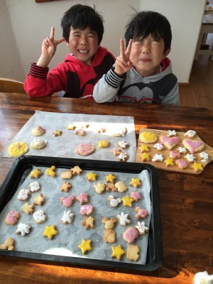 100均グッズでアイシングクッキー作り♪