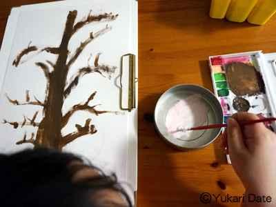 【おうちで習い事?!お絵描き先生】桜を描いてみよう!