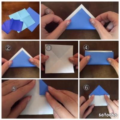 折り 折り紙:折り紙 しゅりけん-enfant.living.jp