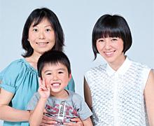 あんふぁんママインタビュー/渡辺満里奈