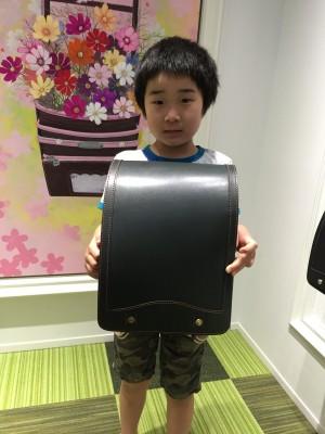 ランドセル選び☆鞄工房山本、表参道店へ!
