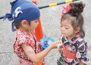 [8月の行事]  「夏祭り」の楽しみ方