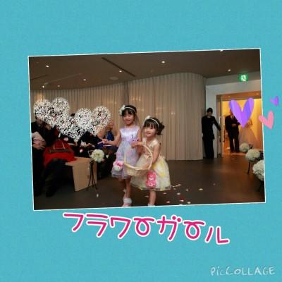 ☆フラワーガール at 結婚式☆