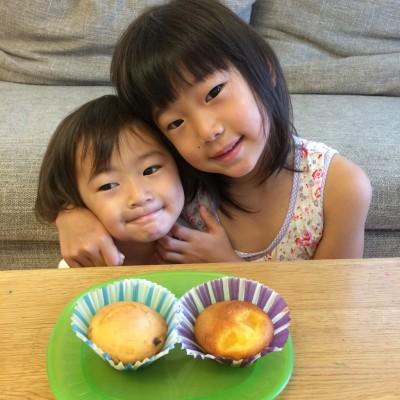 【砂糖レシピ企画】子どもと作るスイーツその2&3〜マフィン&ドーナツ〜