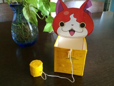 193☆バザー用手作り品・夏休みの宿題工作「牛乳パックけん玉」の作り方