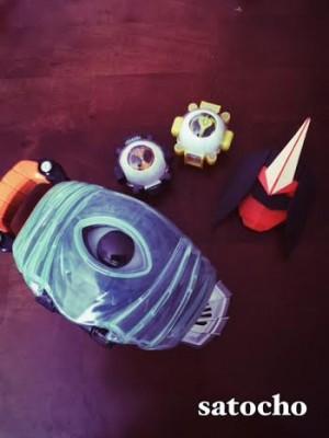 【仮面ライダーゴースト】〈折り紙第2弾〉