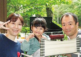 助けたり、助けられたりが心地いい 家族みんなが笑顔で元気なことが大切!