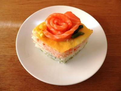 【行事ママ】牛乳パックで簡単☆ひし形の押し寿司の作り方