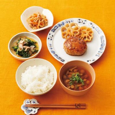 ふっくら&ヘルシー 豆腐ハンバーグ定食