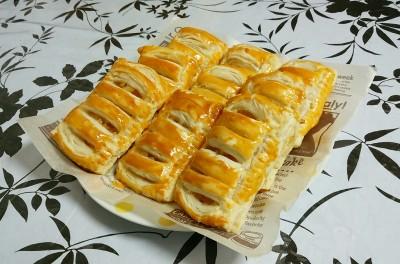 アップルカスタードパイを作りました☆