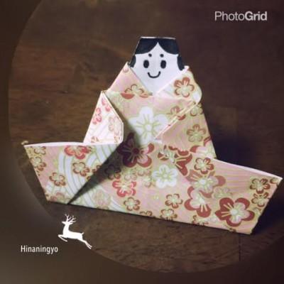 【行事ママ】ひな人形の折り方編