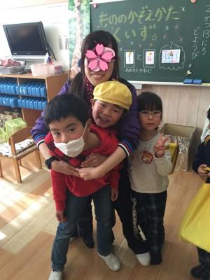 幼稚園最後の参観日