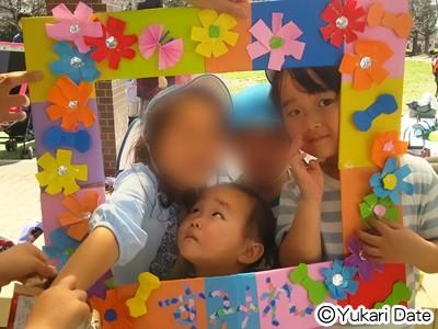 【園生活】春休み一発目×記念写真フレームをクラスで合同制作!
