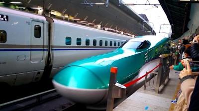 【動画あり】北海道新幹線を見に行ってきました!