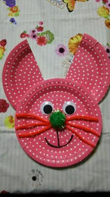 あんふぁん掲載☆イースター!簡単・プチぷらで作れるウサギのデコ