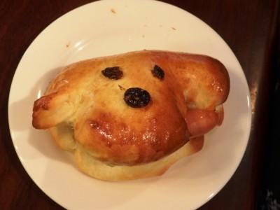 「こべっこランド」の子どもパン教室に参加☆可愛いホットドッグが完成~♪