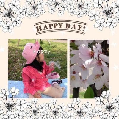 【絵本】お花見行きました♪娘なりの桜の楽しみ方