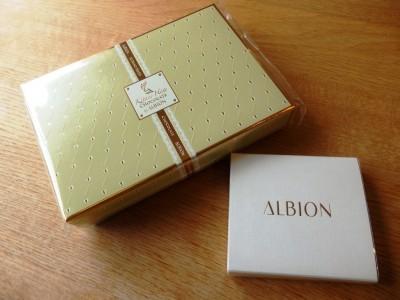 アルビオン60周年!今ならこんなプレゼント2つがもらえるよ~☆