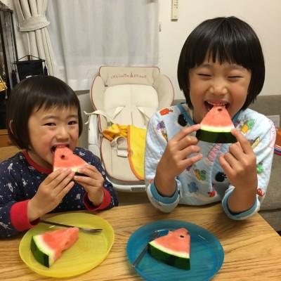 初かき氷・初スモア・初にしん・初スイカ!やっと食べ物ネタ〜(汗)