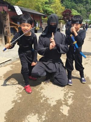 【動画】日光江戸村で忍者修行!