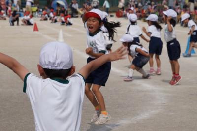 幼稚園とは一味違う小学校運動会