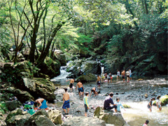 高槻市 摂津峡公園