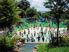 長岡京市 西山公園 ジャブジャブ池