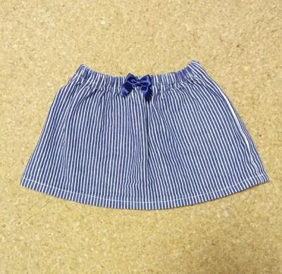 リメイクもOK!簡単!子供用スカートの作り方☆