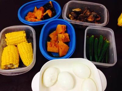 時短のための作り置き食材は色でも考える!