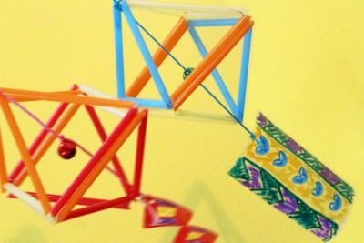 【夏のアレンジ工作】ヒンメリの風鈴*作り方