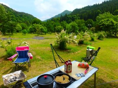 ★初めてのキャンプ★~キャンプ飯編~
