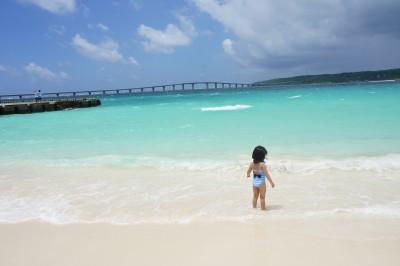 宮古島2日目。日本一にも選ばれたビーチと島カフェをめぐる!★子連れ旅
