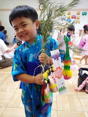幼稚園の七夕会(*^^*)1年での成長★