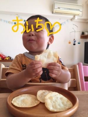 七夕フルーツ餃子☆あまった皮でパリパリおせんべい(^^)