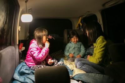 体験ルポ!いざという時のために…子どもと車中泊の練習