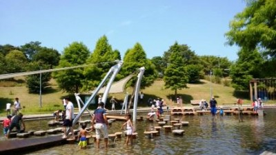 県立淡路島公園~水遊び、ふわふわドームなど~混雑状況&口コミ