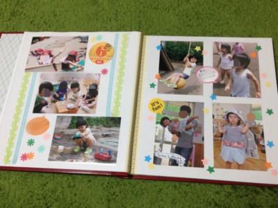 子供の写真を可愛く保存!2ページ目☆アルバムカフェ