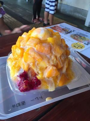 【沖縄】なかゆくい市場おんなの駅がおすすめ!トロピカルフルーツかき氷♪