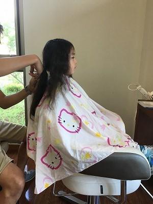 娘の髪の毛を寄付 ヘア ドネーションってご存知ですか?