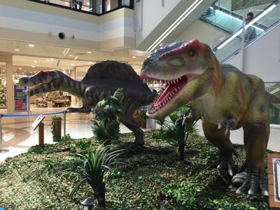 恐竜好きに☆コルトンプラザの『わくわく恐竜王国』&『絵本パラダイス』