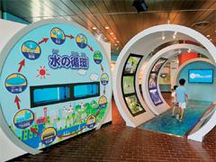 神戸市ポートアイランド処理場下水道展示室